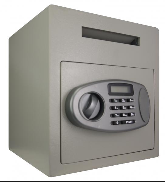 Einwurftresor mit Elektronikschloss | Sicherheitsstufe A | Deposit | Einwurfschlitz