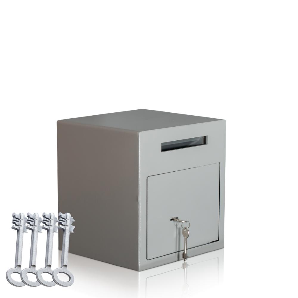 einwurftresor mit 4 schl ssel deposittresor gastro diadorn einwurftresore deposittresore. Black Bedroom Furniture Sets. Home Design Ideas