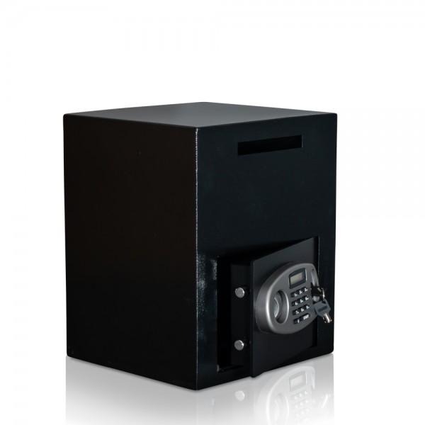 Einwurftresor für Gastronomie | Doppelwandig | Sicherheitsstufe B | VDS zertifiziertes KABA elektron
