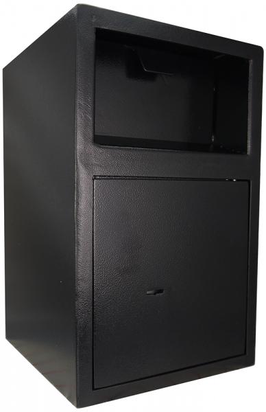 Einwurftresor mit Einwurfklappe | Sicherheitsstufe A | Tresor mit Schlüssel