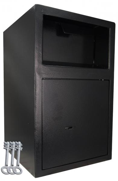 Einwurftresor mit Einwurfklappe | Autohaustresor | Tresor mit 3 x Schlüsseln | Depositsafe