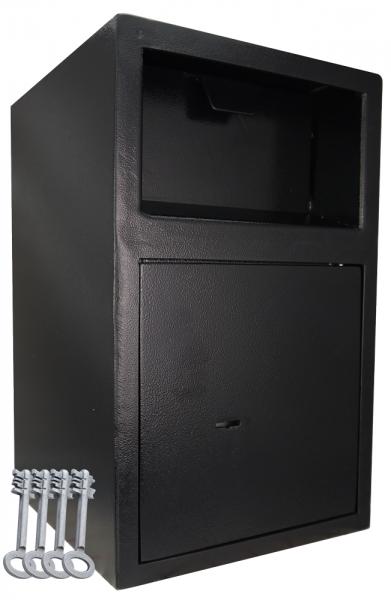 Einwurftresor mit Einwurfklappe | Schlüsseltresor | Tresor mit 4 x Schlüsseln | Briefkastensafe