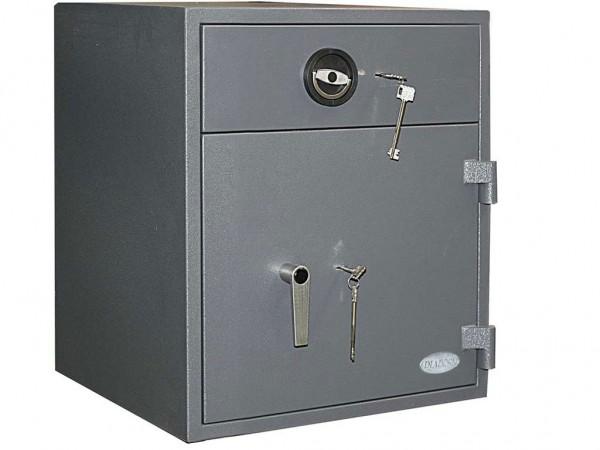 Einwurftresor   Sicherheitsstufe D1   ECB-S - EN 1143-2   Gastro   Schlüsselschloss   GastroHigh 01