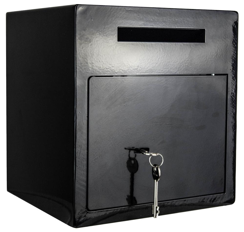 einwurftresor bar tresor mit schlitz deposit schwarz diadorn. Black Bedroom Furniture Sets. Home Design Ideas