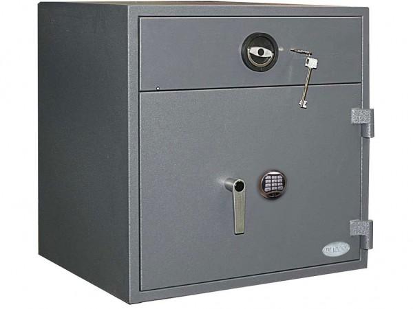 Einwurftresor | Schmuck | Bank Tresor | Widerstandsgrad 1 | ECBS - EN 1143-2 | GastroHigh 02 E