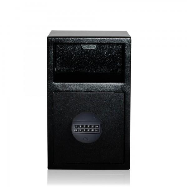 Einwurftresor mit Einwurfklappe   Sicherheitsstufe B   VDS Schloss Klasse 2   Pin-Code