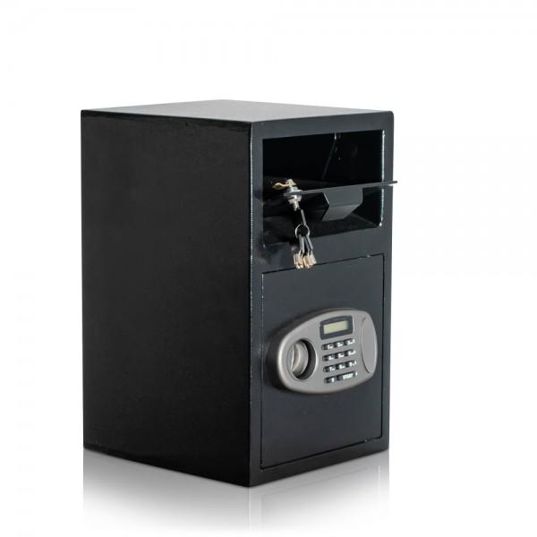 Einwurftresor | abschließbare Einwurfklappe | Deposittresor|Elektronik