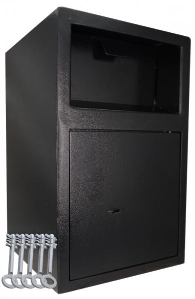 Einwurftresor mit Einwurfklappe | Bäckerei Tresor | 5 Schlüssel | Deposittresore