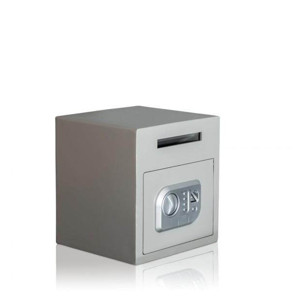 Einwurftresor-Gastronomietresor-Fingerscan-Biometrie-Depositsafe-Einwurfschlitz