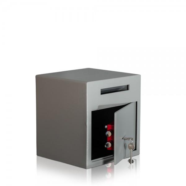 Einwurftresor-GASTRO-Deposittresor-Tresor-mit-Einwurfschlitz
