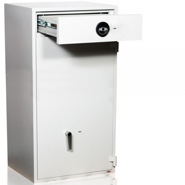 Einwurftresor | Wertschutzschrank | Sicherheitsstufe D1 | ECBS | Schlüsselschloss | GastroHigh 05 S