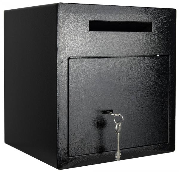 Einwurftresor | Sicherheitsstufe B | VDMA 24992 | Deposittresor | Einwurfschlitz | Schlüsselschloss